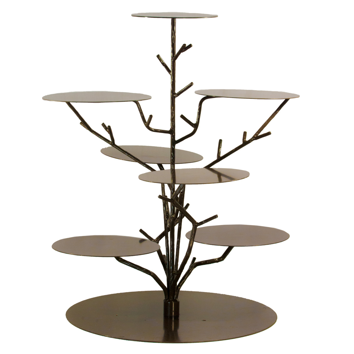cupcake stand bronze tree celebrations party rentals. Black Bedroom Furniture Sets. Home Design Ideas