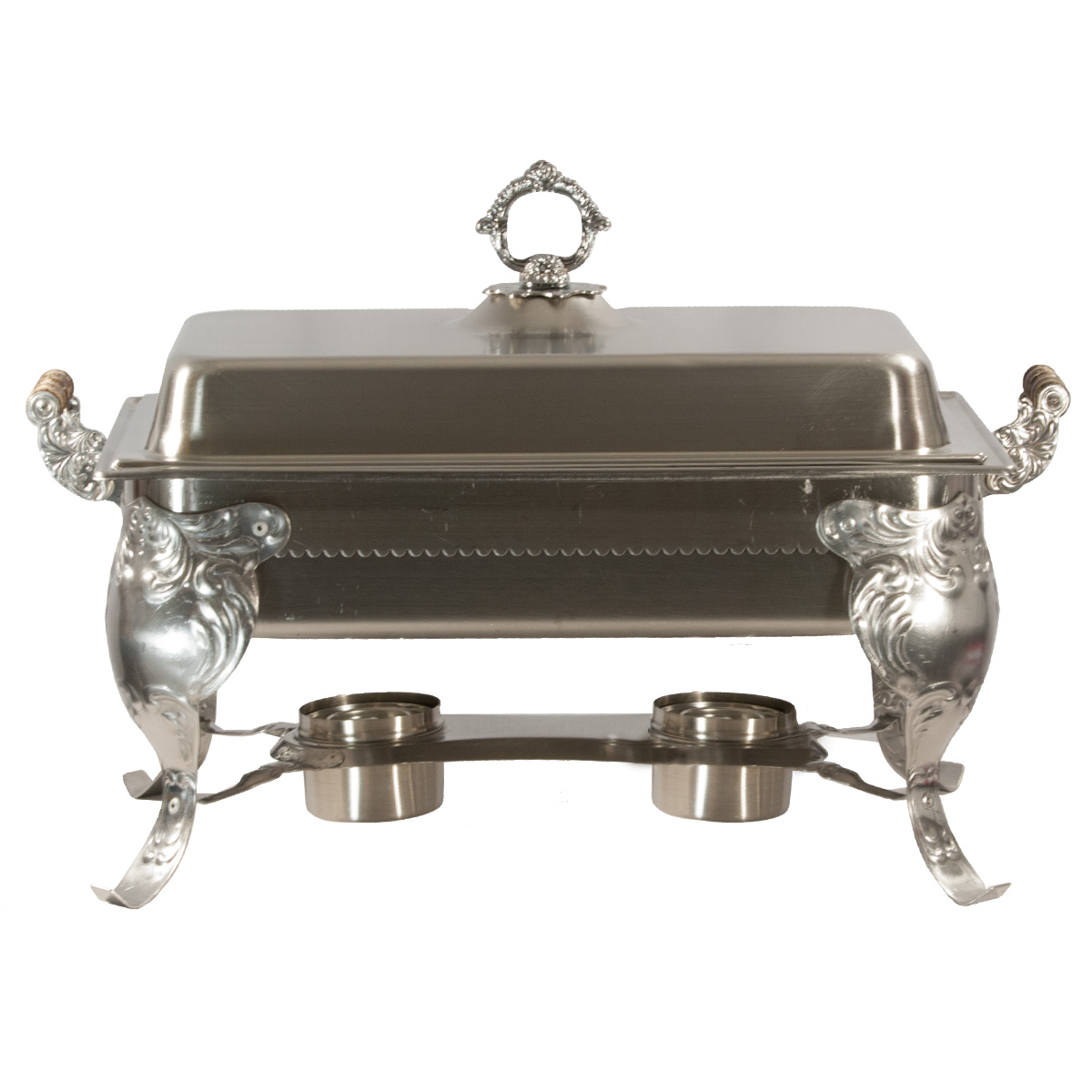 8 Quart Fancy Stainless Chafing Dish