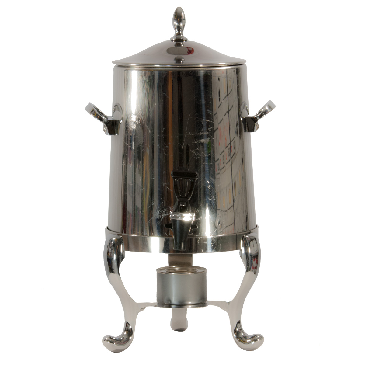 50 cup polished stainless coffee urn