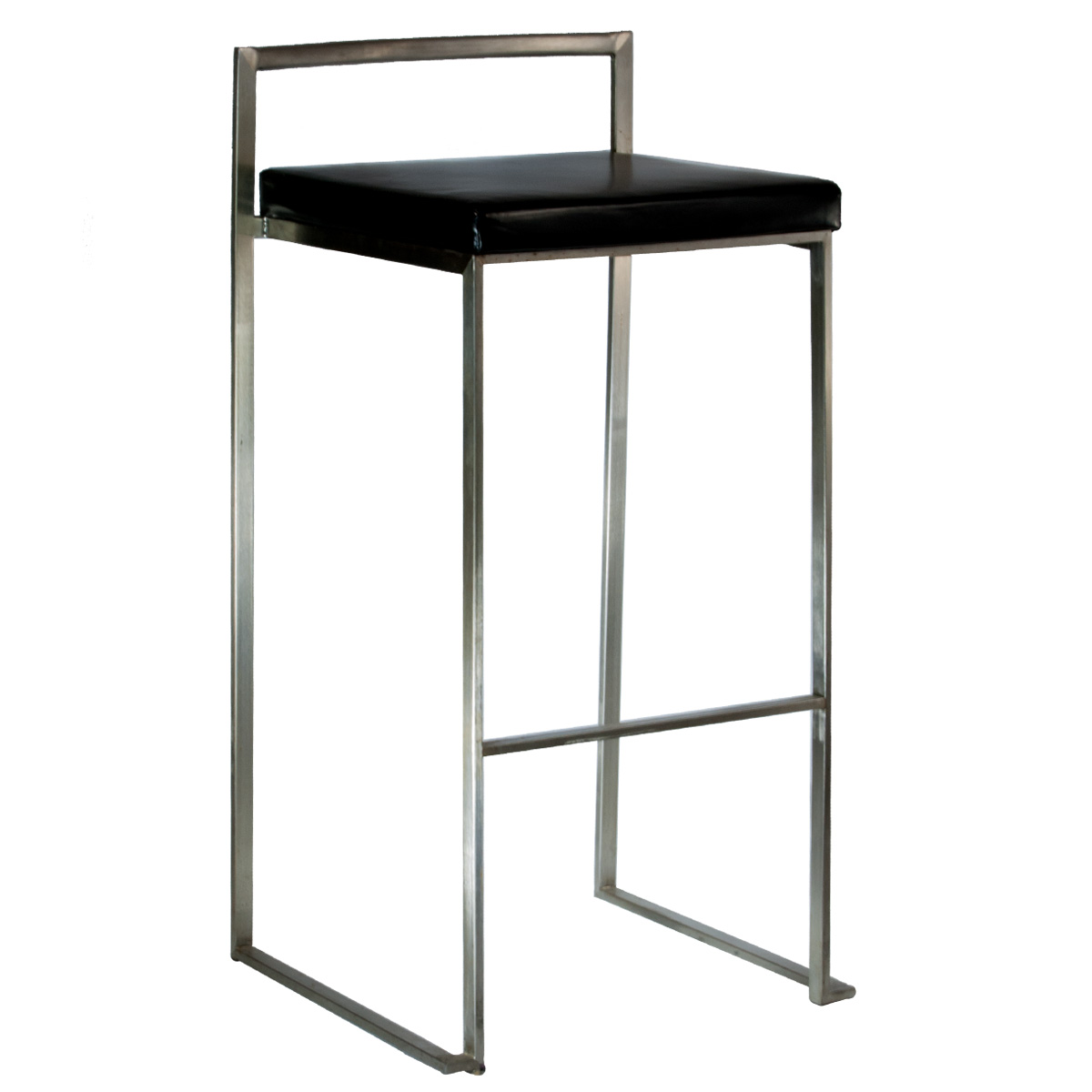 Barstool U2013 Black And Stainless