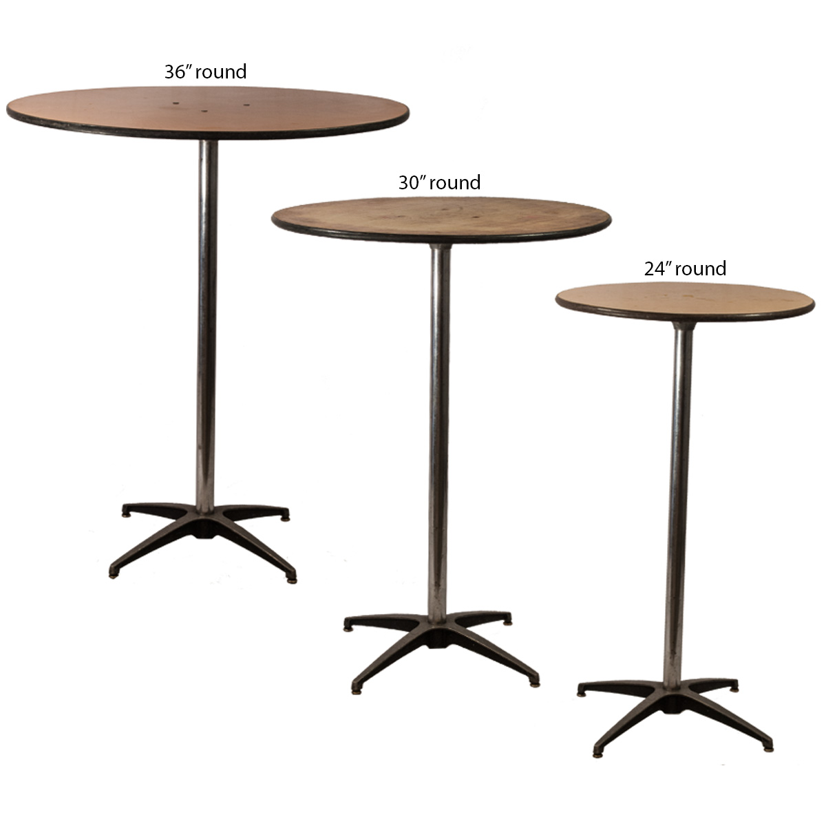 Cocktail table 30 round celebrations party rentals - Average coffee table height ...