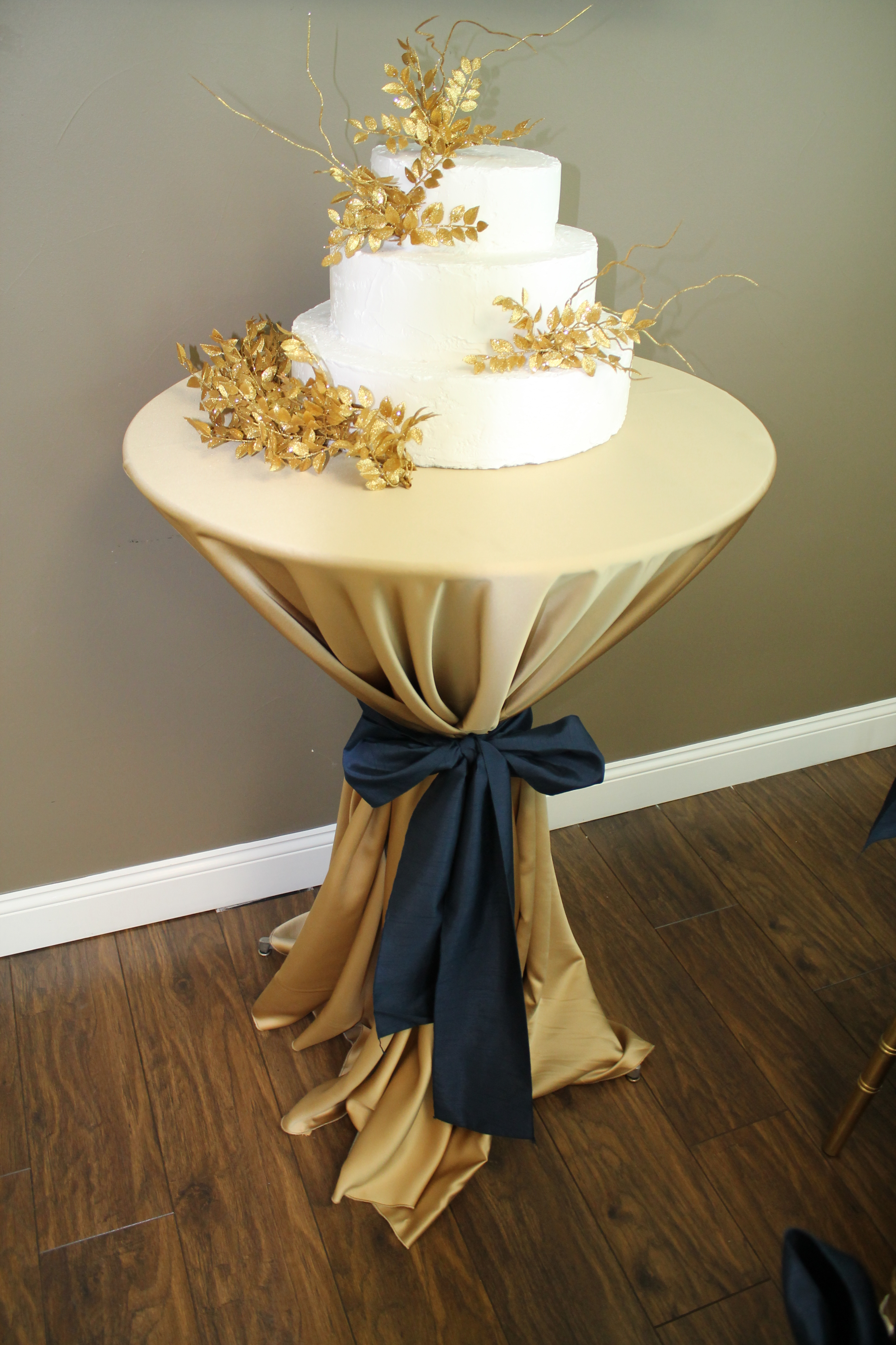 Color Stories Navy And Gold Celebrations Party Rentals