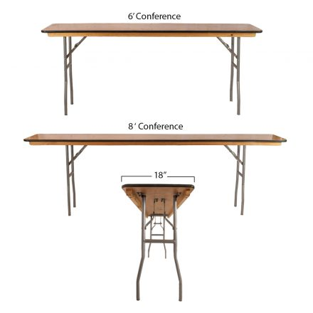 6u2032 Conference Table