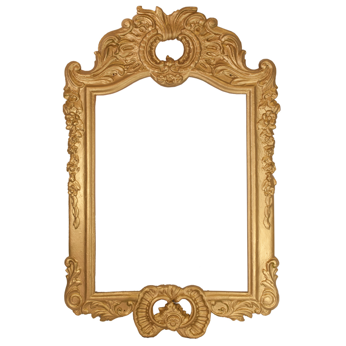 French Picture Frame - Gold - Celebrations! Party Rentals