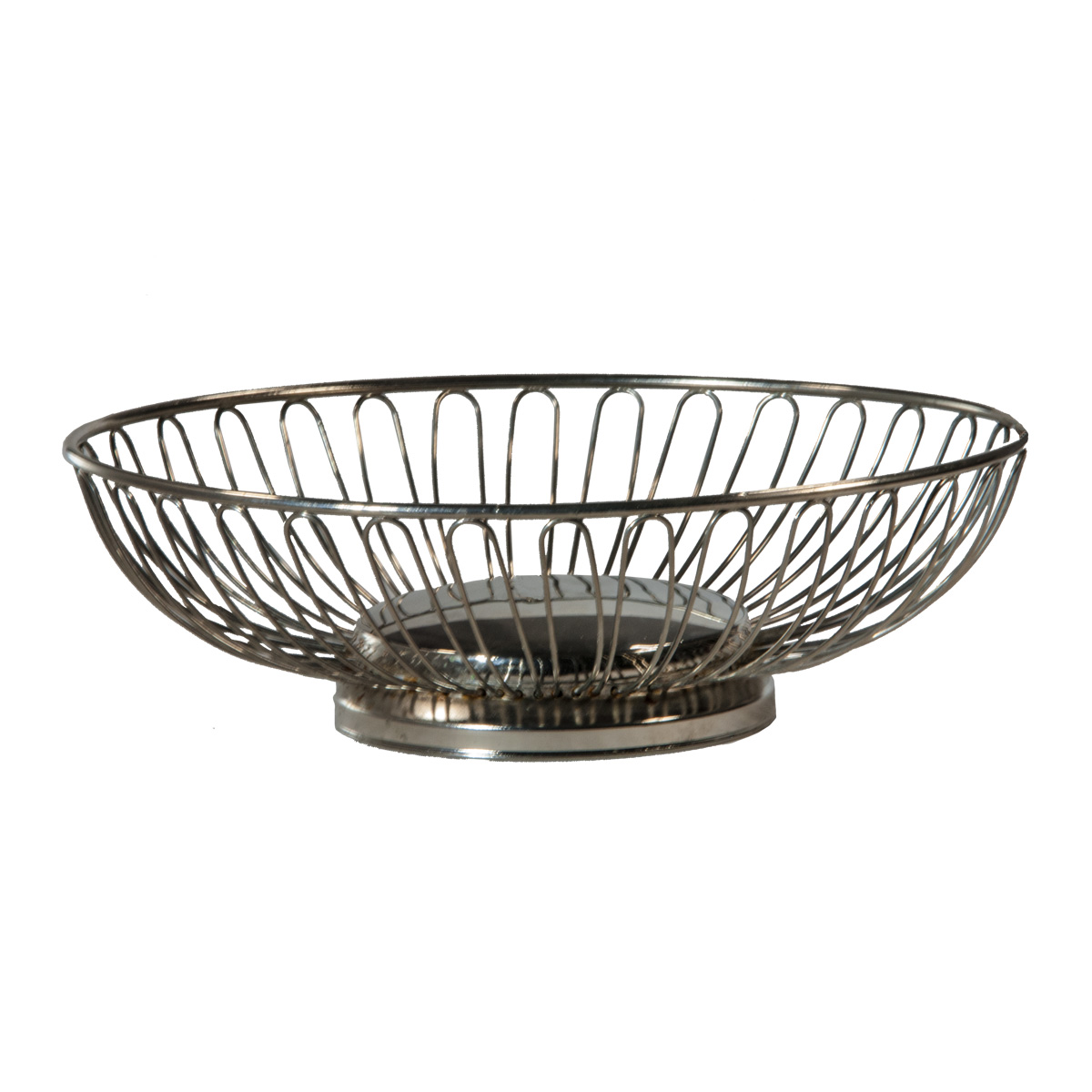 Silver Bread Basket - Celebrations! Party Rentals