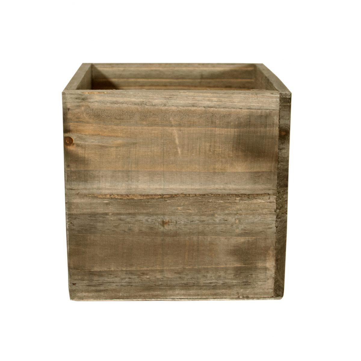 wooden planter box square - Wood Planter Box