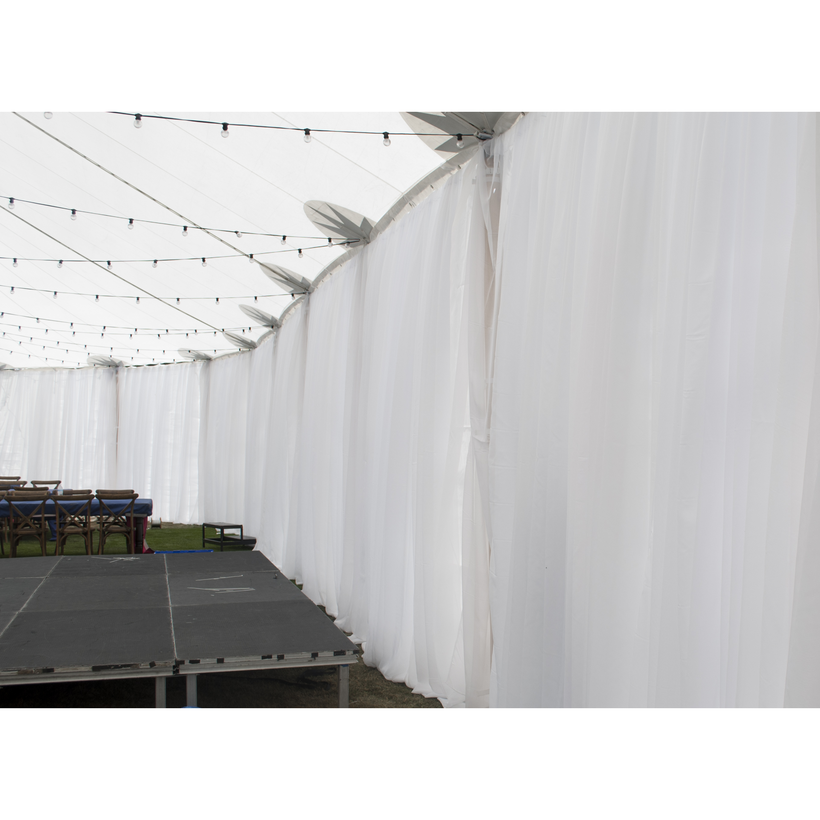cabana party greenwich drapes ma pipe ct ri drape display ny in and rentals lighting
