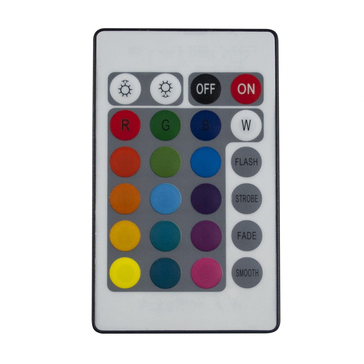20-Color LED Light with Remote