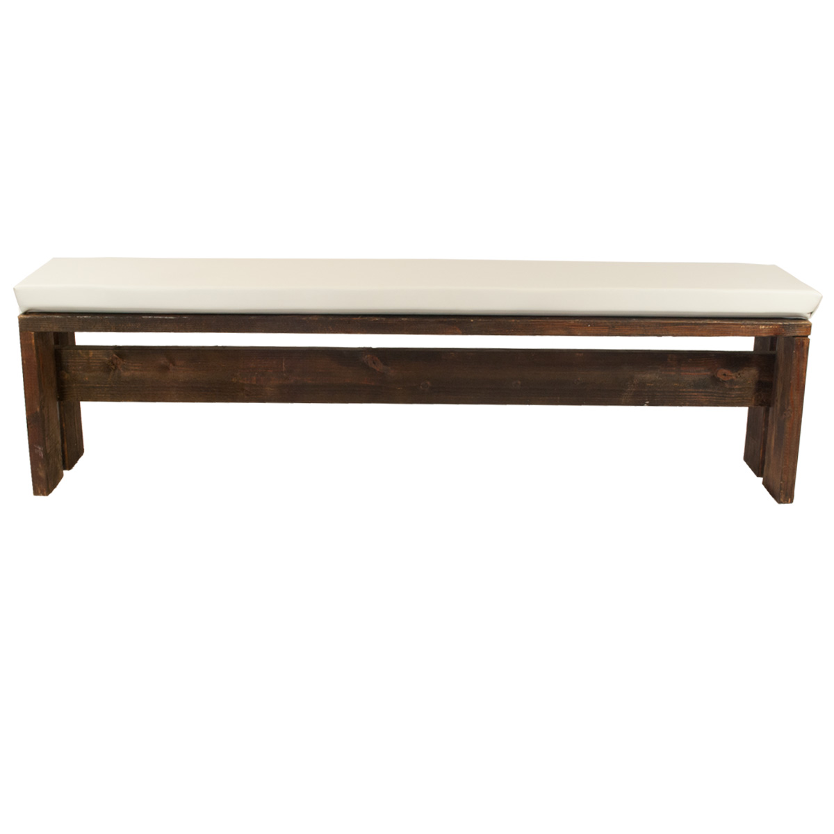 Norden 4 Bench With White Pad Celebrations Party Rentals