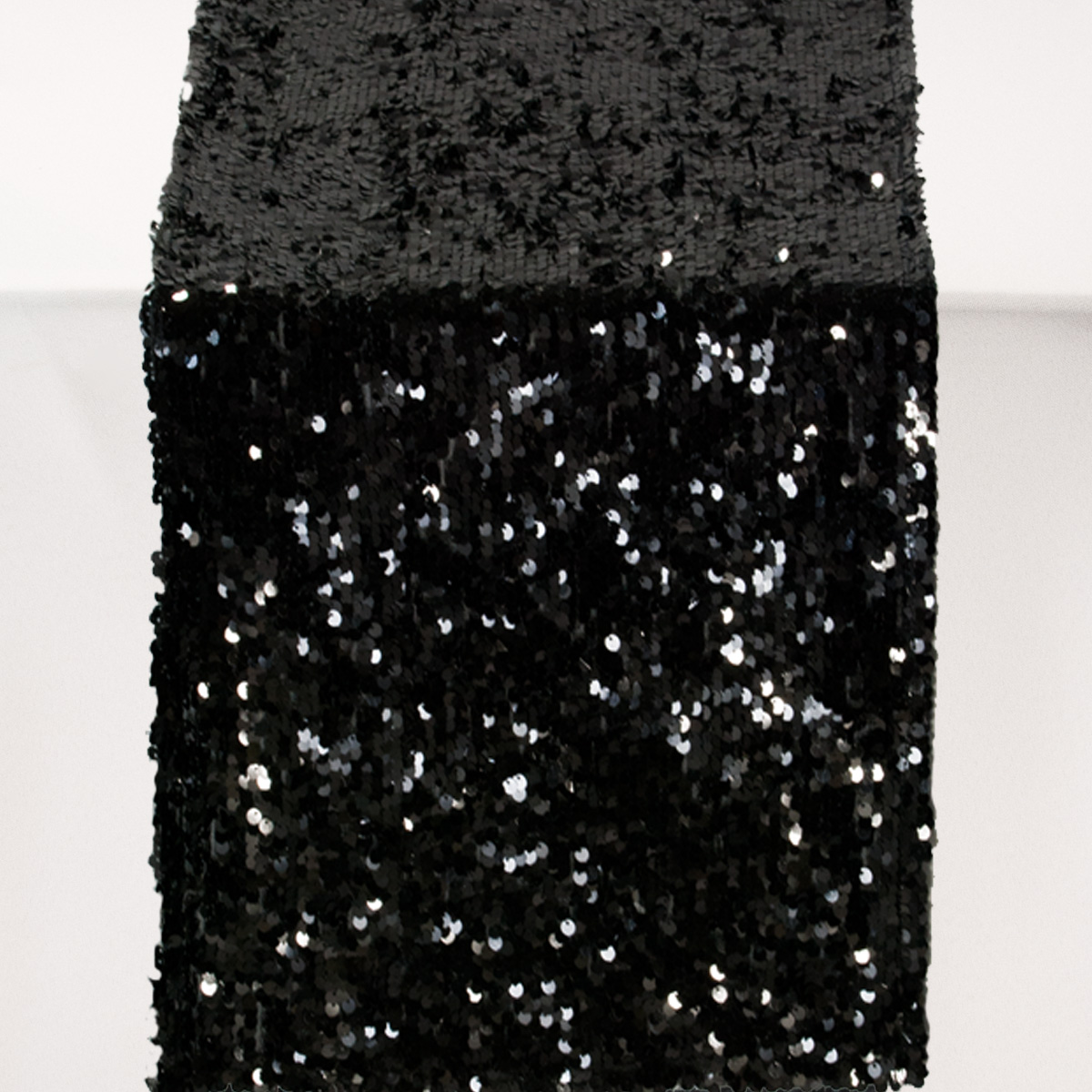 Black Sequins Celebrations Party Rentals