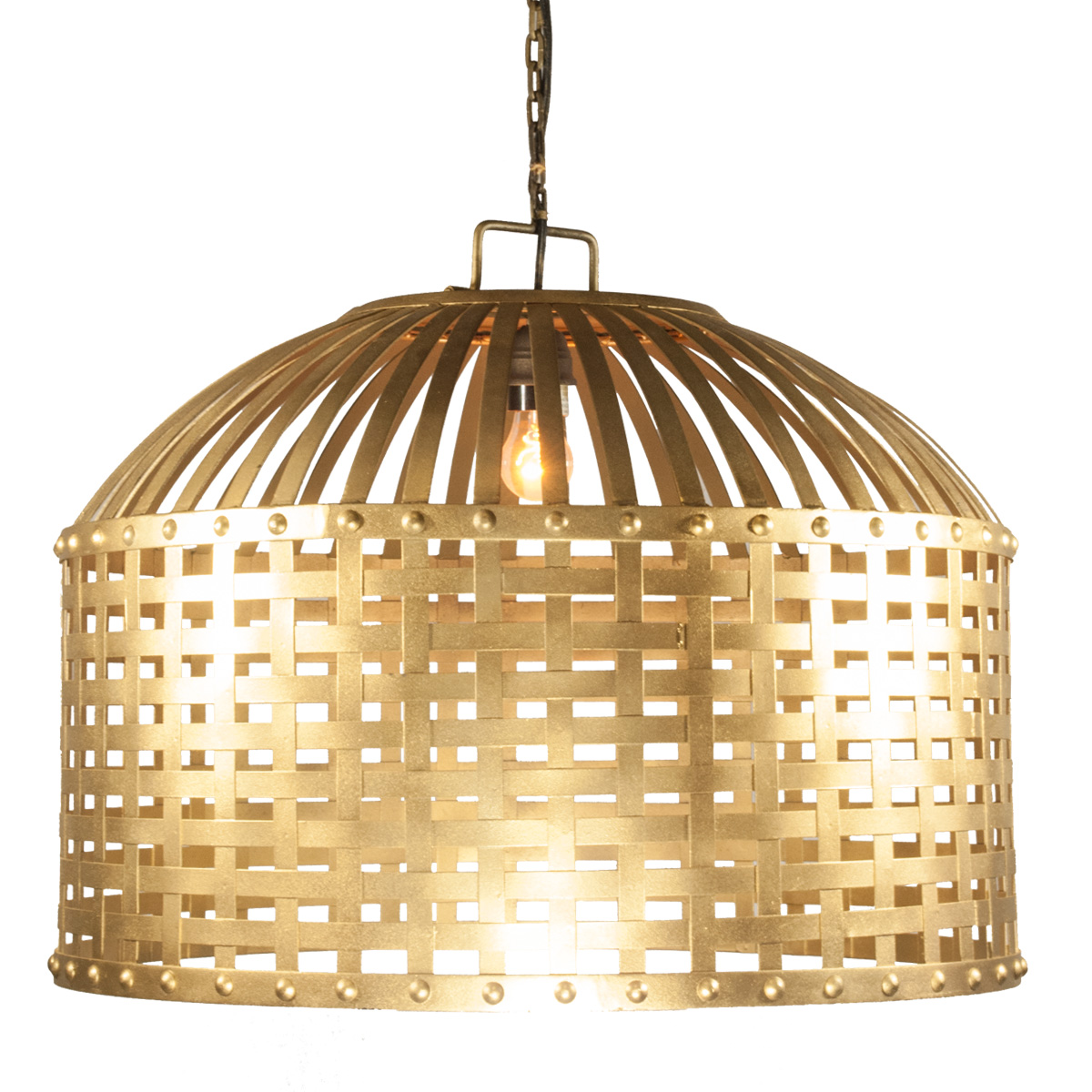 Gold cage chandelier celebrations party rentals gold cage chandelier aloadofball Choice Image