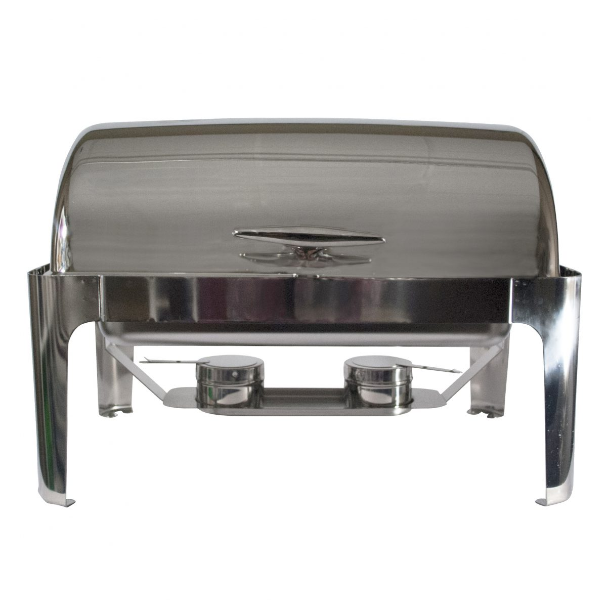 8 Quart Stainless Roll Top Chafing Dish