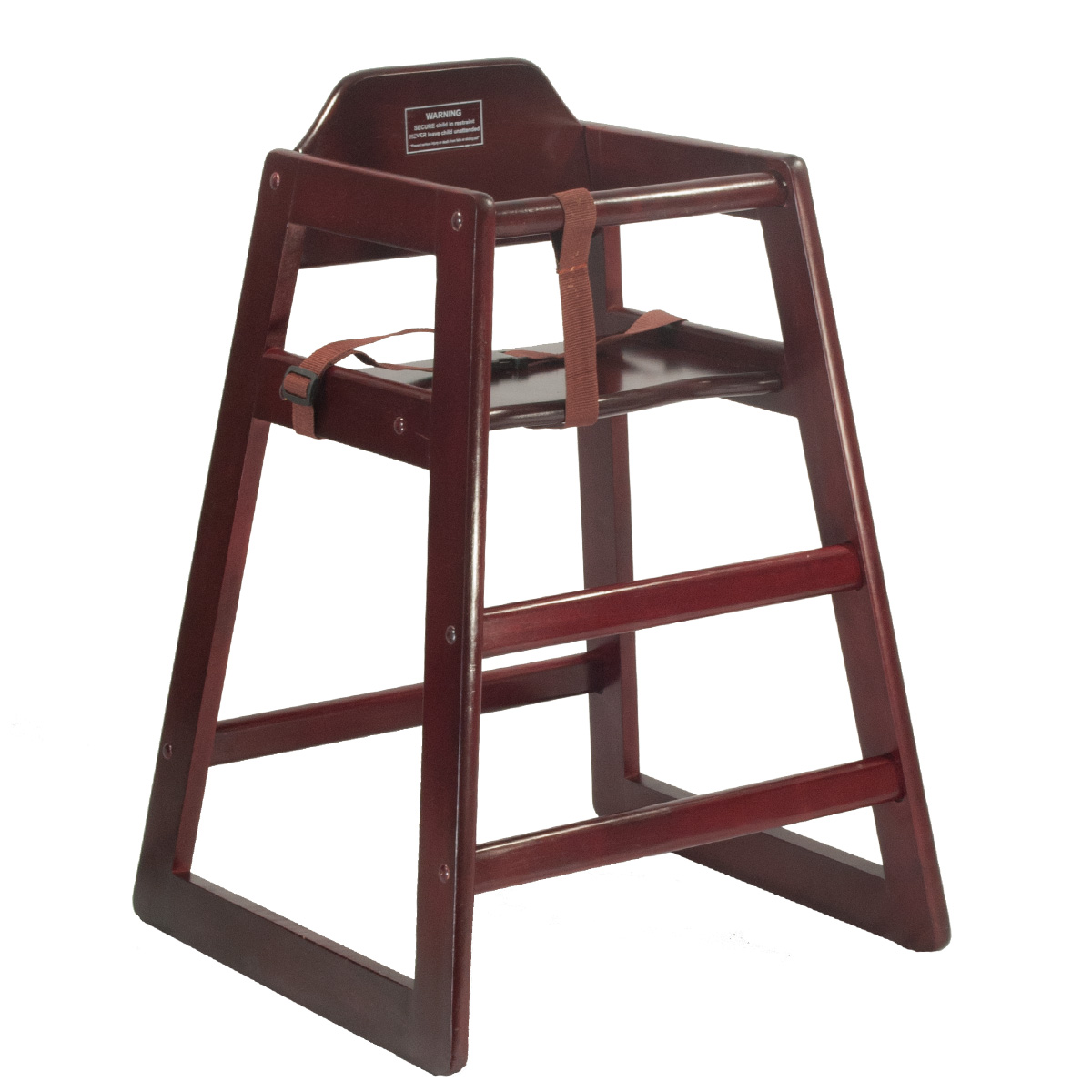 child s high chairs mahogany celebrations party rentals