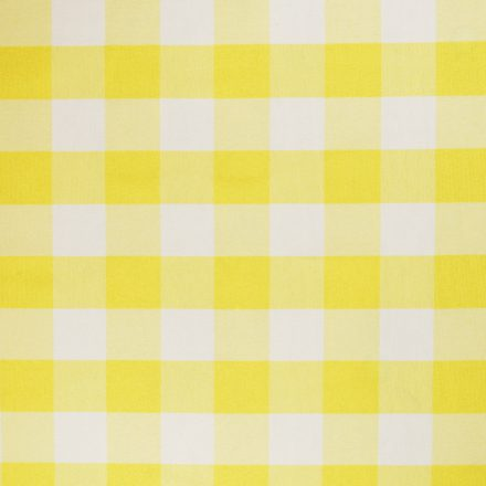 yellow and white check