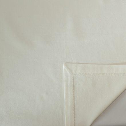 linen ivory hemstitch napkin