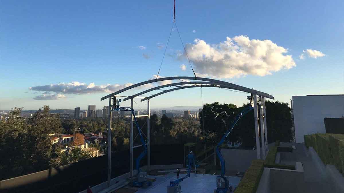 building custom tent